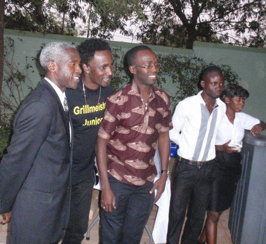 L'ambassadeur Tulinabo Mushingi et la star Alif Naaba ont rehaussé de leur présence l'exposition