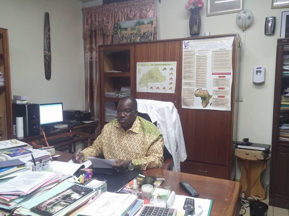 Le directeur général du CHU Yalgado Ouédraogo, Robert B. Sangaré