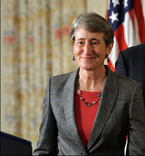 La secrétaire d'Etat américaine à l'intérieur, Sally Jewell, est plus que jmais déterminée sur dans le lutte