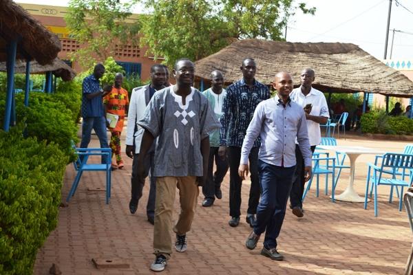 C'est accompagné d'une forte délégation que le ministre Barry a sillonné les sites touristiques de la capitale