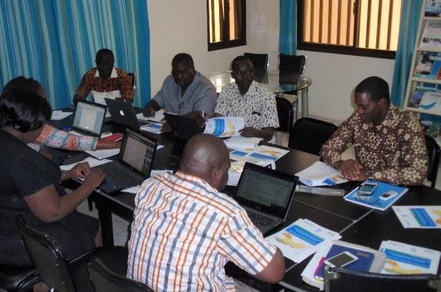 La rencontre a réuni plusieurs membres du groupe noyau régional du PROGIS AO