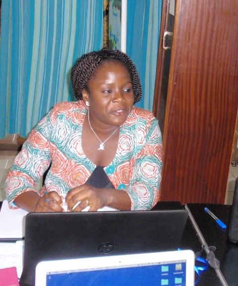 Félicité Vodounhessi/Chabi-Gonni, chargée du PROGISAO, s'est félicitée des résultats de la réunion