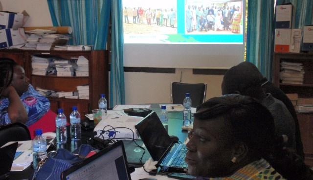 Lors de la rencontre de mise en place de la PGIS-BF ce 13 juillet à Ouaga 2000